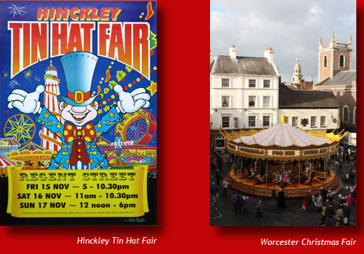 Hickley Tin Hat Fair Poster